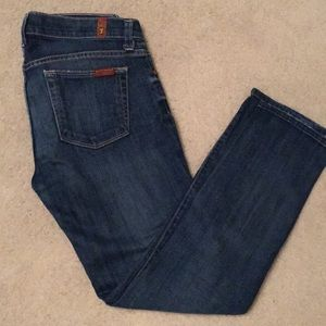7 for All Mankind Slim Straight Jeans Size 26